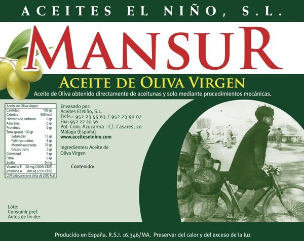 etiqueta oliva virgen